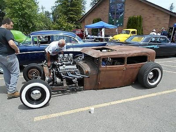 Ford : Model A Tudor Sedan Rat Rod 1928 Ford Tudor Sedan Model A Hot Rat Rod 1929 1930 1931 - http://www.legendaryfind.com/carsforsale/ford-model-a-tudor-sedan-rat-rod-1928-ford-tudor-sedan-model-a-hot-rat-rod-1929-1930-1931/
