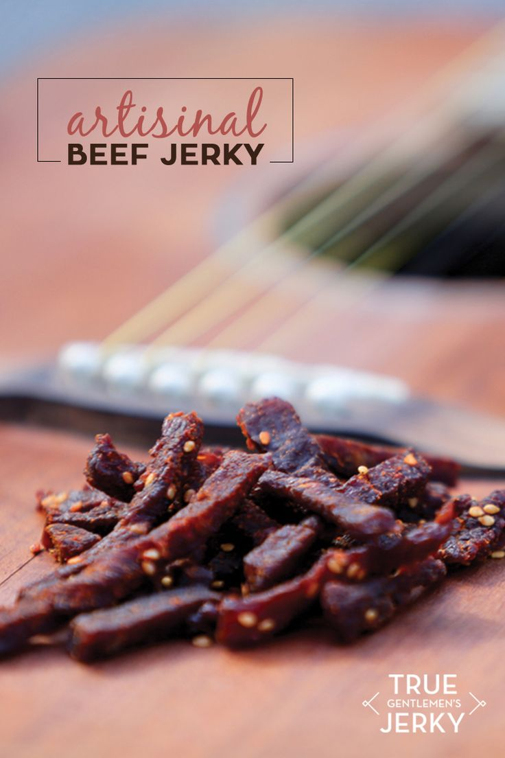 This beef jerky sweet talks with its brown sugar undertones, turns up the flavor with sesame and ginger and gets us all fired up with chiles. And did we mention it's made with organic beef and spices? The gentlemen jerky makers are so confident in the authentic Korean BBQ flavor of this jerky, they named it Sinsa, after a neighborhood in Seoul packed with great barbecue spots. You'll want to eat the whole bag. Just don't eat the floss that's included.