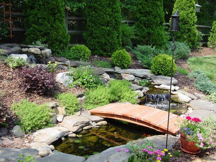 home and garden designs photo of nifty landscape garden design ideas - Japanese Wooden Garden Bridge