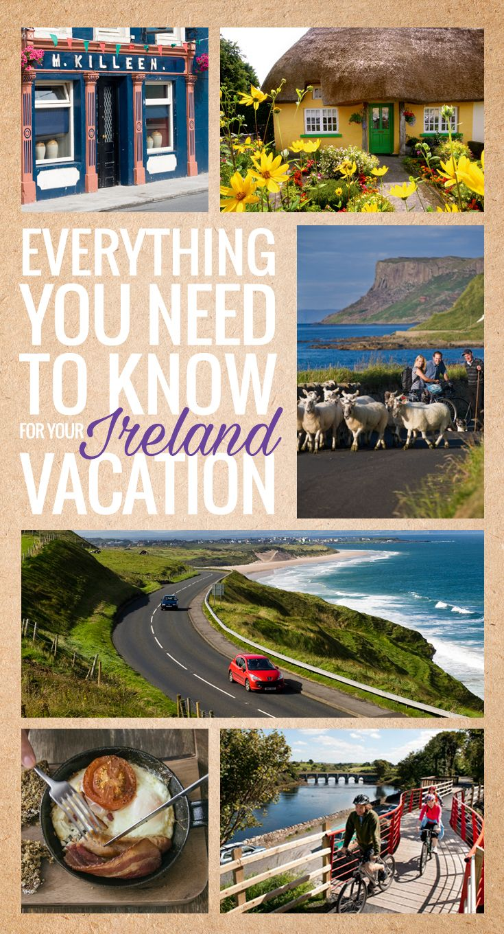 Ever wondered just how big Ireland is? Or tried to figure out which side of the road we drive on (it's the left!)? Are you puzzling over visa queries, or pondering whether you can bring your pets with you on vacation? We've got answers to all of this and more.