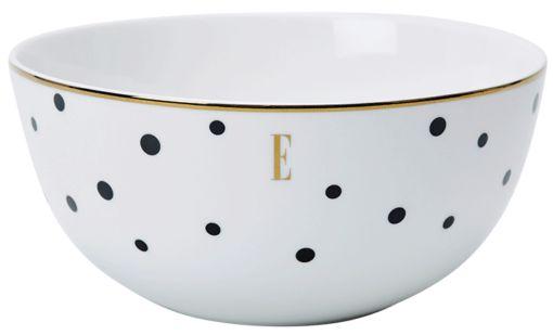 ELLE – Black Polka Dot Noodle Bowl