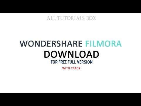 How To Download And Install Wondershare Filmora Full Version