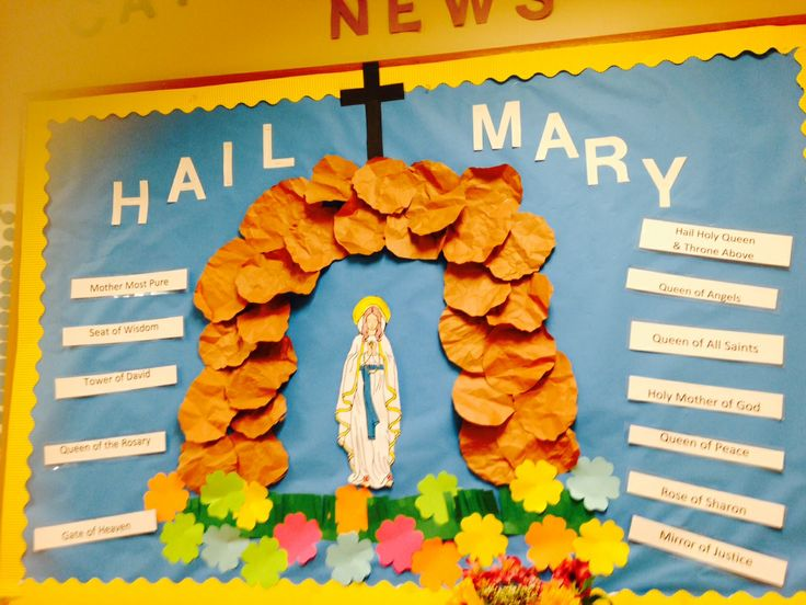Names of Mary Bulletin Board, please comment and tell me what you think!
