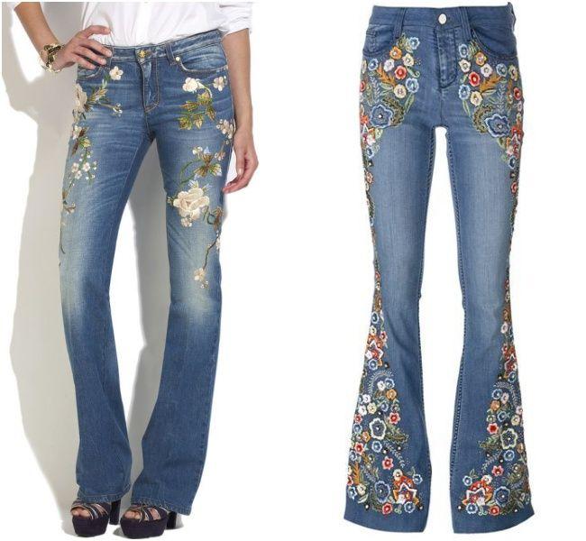 Já falamos sobre as jaquetas jeans com patches, e hoje o papo continua sobre jeans, porém as calças bordadas! Antes de mais nada, deixa eu falar que NUNCA NA VIDA o jeans esteve tão em alta. Está nos sapatos, nos acessórios e tem até roupa de festa em jeans. E como vocês já perceberam, o …