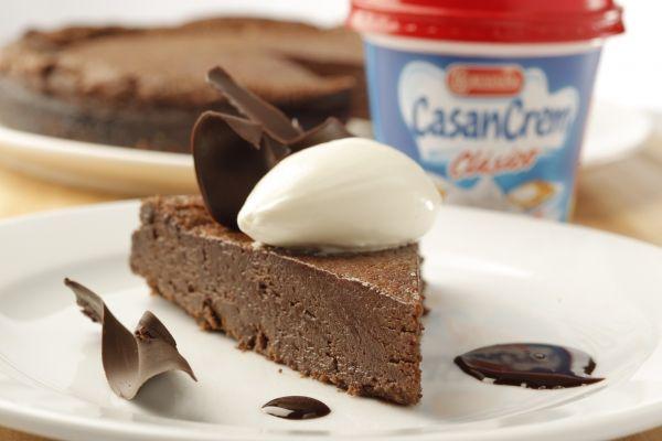 Receta Torta humeda de chocolate de Casancrem