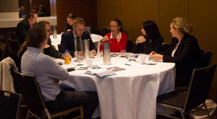 Delegates share ideas at the ATC2015 - Recruitment Is Marketing