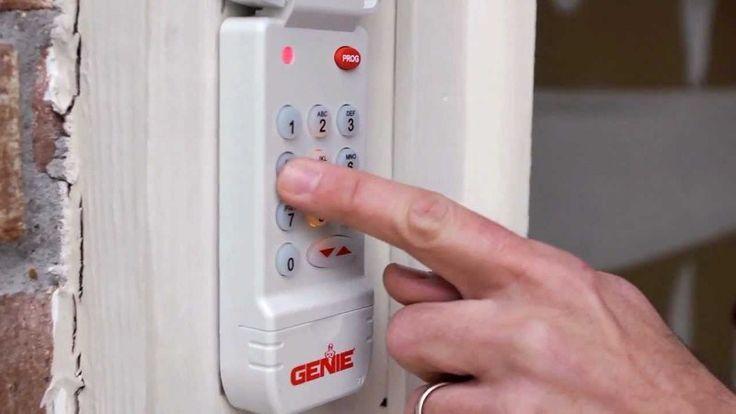 1000 Ideas About Garage Door Keypad On Pinterest Garage