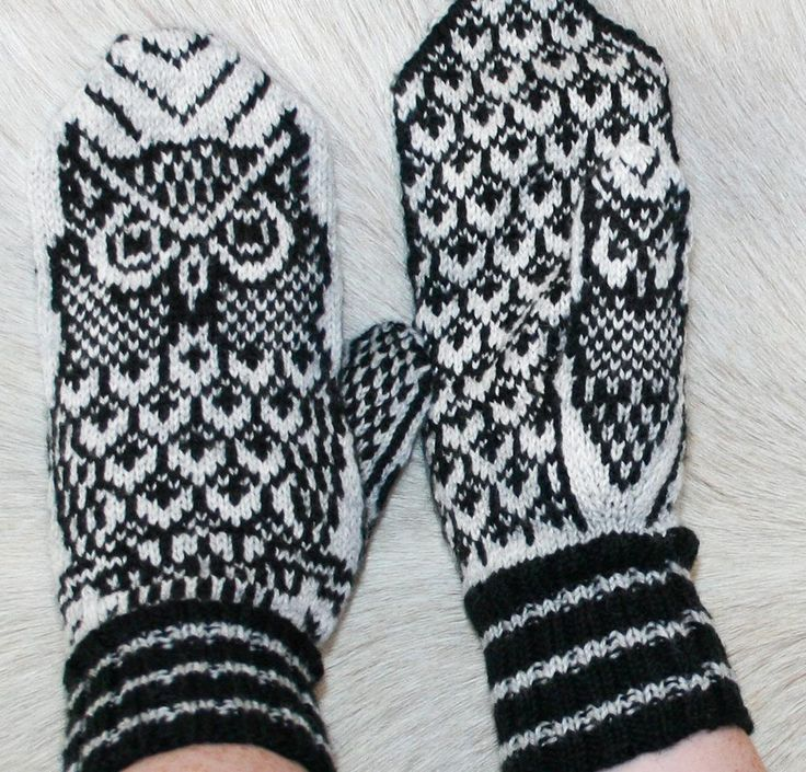 Night Owl Mittens Kit - None