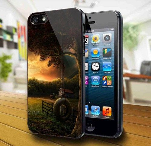 Sunset In The Village #2 iPhone 5 Case | kogadvertising - Accessories on ArtFire