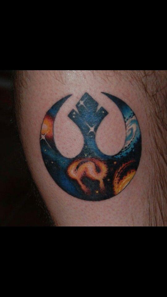 Rebel Alliance tattoo  Love this!!!