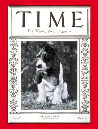 TIME Cover: Baby Basset Hound