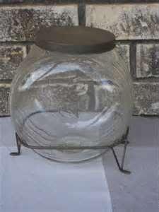 Hoosier Sellers Glass Kitchen Sugar Jar Seller