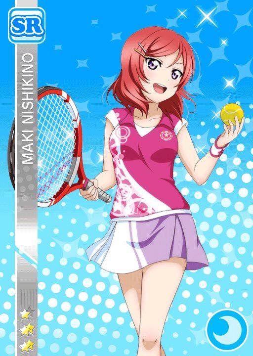 Nishikino Maki(西木野真姫) テニス編 未覚醒SR