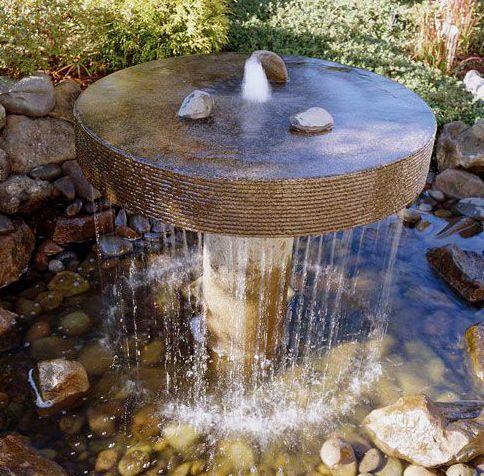 17 mejores im genes sobre fuentes de agua en pinterest for Fuentes ornamentales jardin