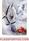 Gift Horse Garden Flag