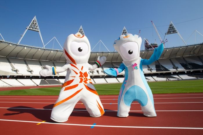 Wenlock & Mandeville - London 2012 Olympic & Paralympic Games