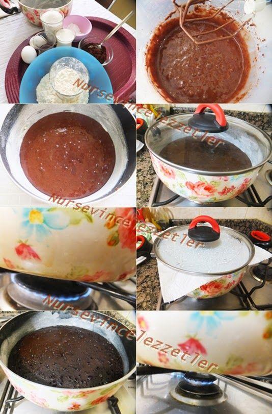 Tencerede Kek Nasıl Pişirilir