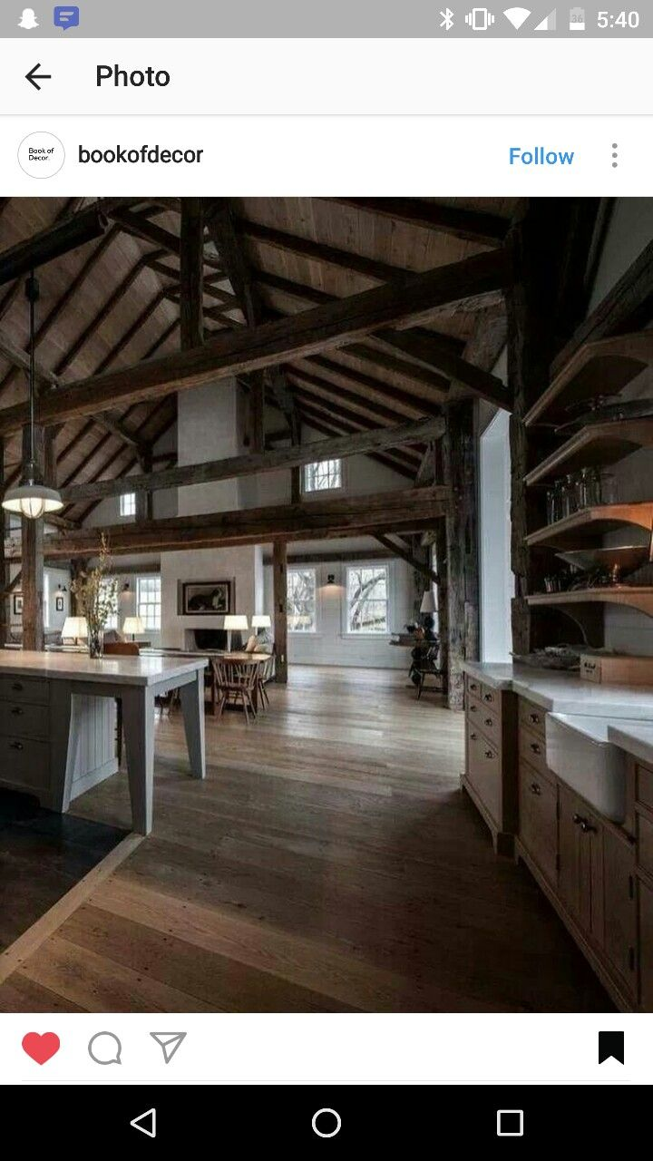 Pin by Molly Baxter on Kitchen Decor and DIY Barn house Barn