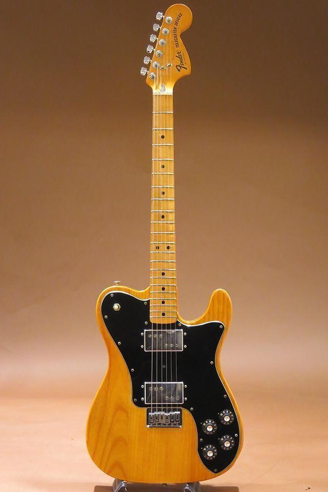 Used Fender 1976 Telecaster Deluxe Vintage w Original Black Tolex Hardshell Case | eBay