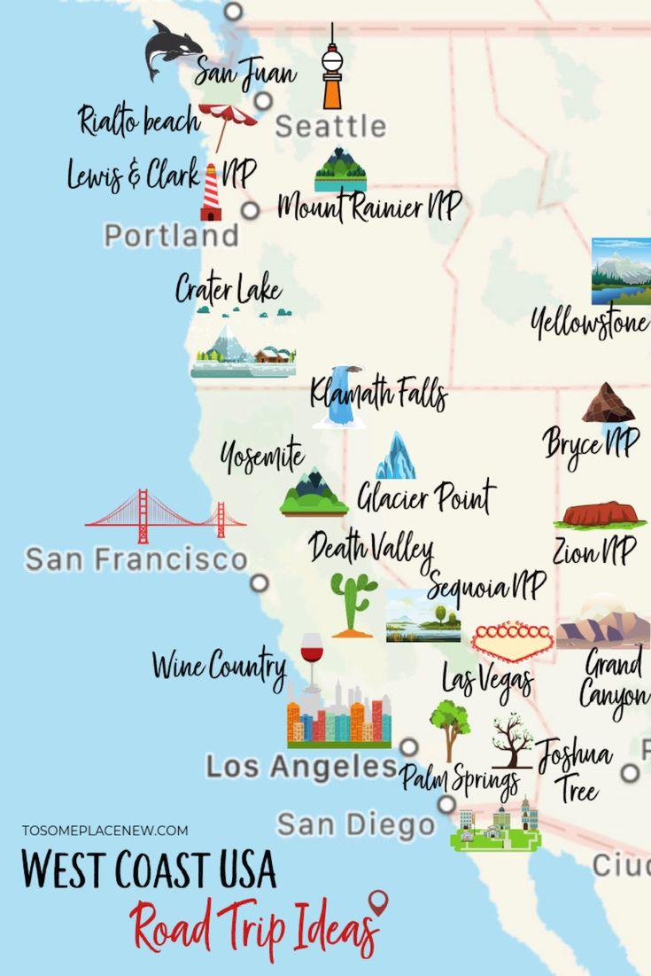 16 Epic West Coast USA Road Trip Ideas & Itineraries