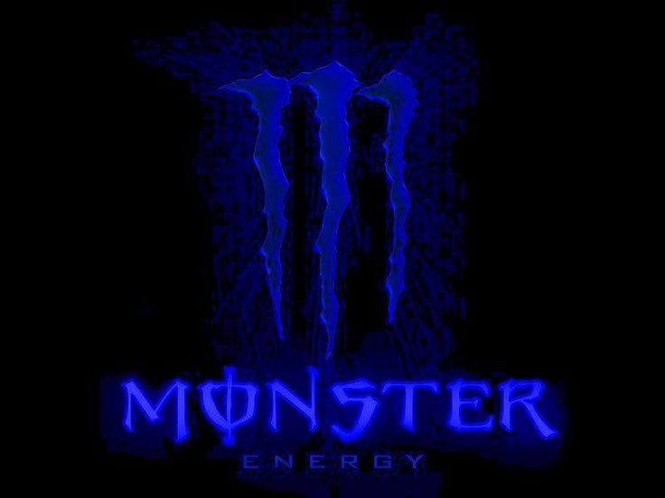 Monster Energy Drink Blue Logo Wallpapers Resolution : Filesize : KB, Added  On February Tagged : Monster Energy Drink