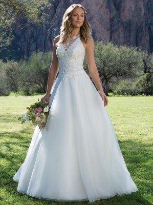 The breathtaking 1126 gown by Sweet Heart, with a fabulously detailed bodice and racer neckline. #wedding #weddingideas #bridetobe #wifetobe #weddinginspiration
