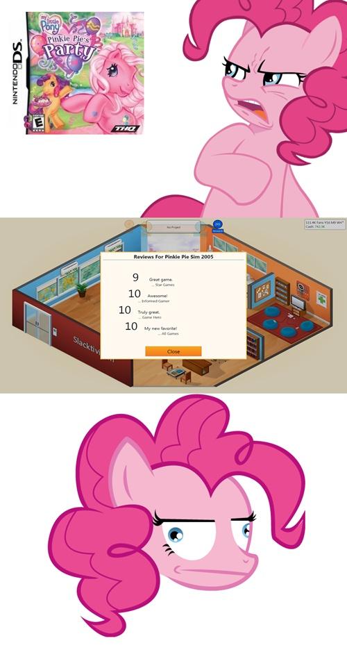 Pinkie Pie and Pinkie Pie's Party   Pinkie Pie ...