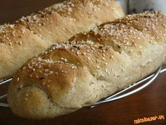 Z tohto cesta si môžete pripraviť aj žemle, sendvič, či toustový chlieb. Pečivko je vynikajúce a mäk...