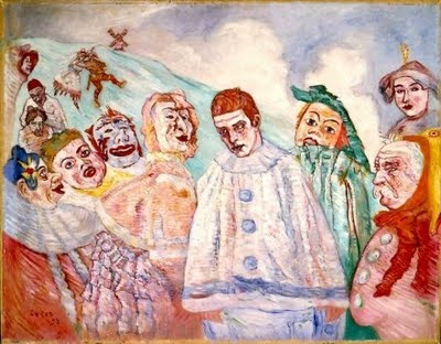 """The Sad Pierrot"" ~James Ensor"