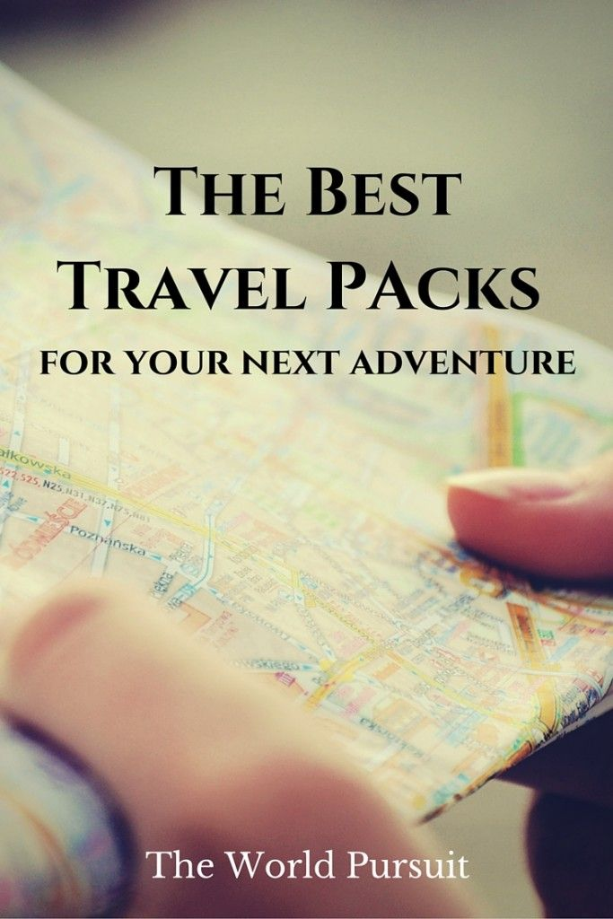 Want to know what the best travel backpacks to travel the world with are? Look no further!