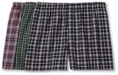 Men's Big Man Tartan Boxers - 3pk - Fruit of the Loom® Underwear