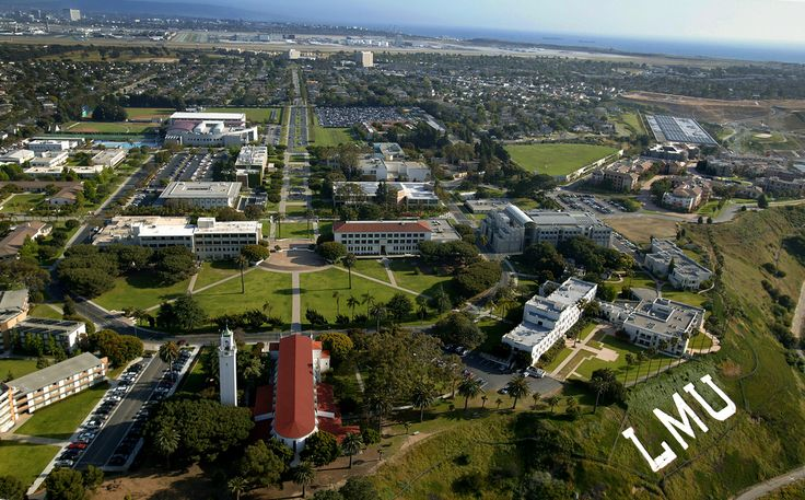 Loyola Marymount University...couldn't imagine a more beautiful place to have lived and learned in