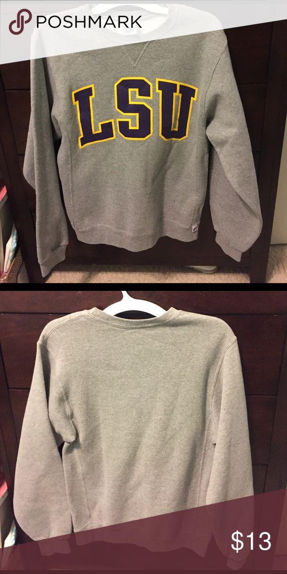 LSU Sweatshirt Never worn, Very soft Louisiana State University Sweatshirt Tops Sweatshirts & Hoodies