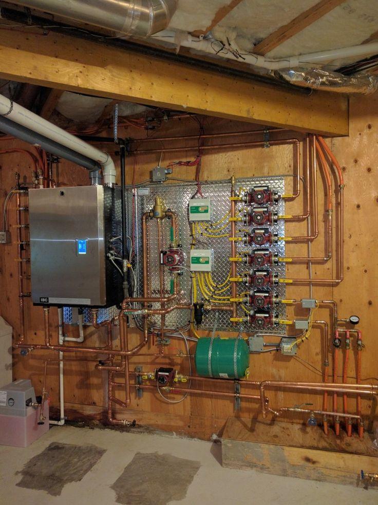 IBC SL45260 high efficiency condensing gas boiler. Custom