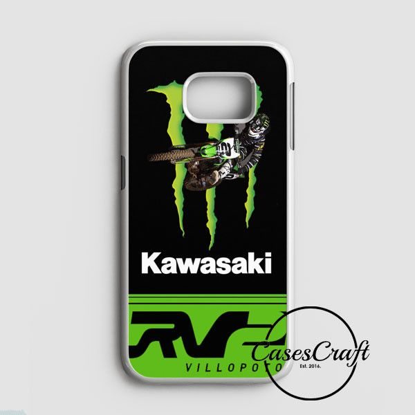 Ryan Villopoto Monster Thor Motocross Samsung Galaxy S7 Edge Case | casescraft