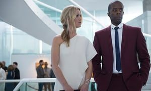 Riviera, starring Julia Stiles and Adrian Lester.