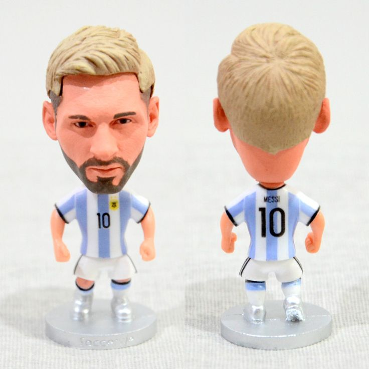 Football Player MESSI #10 Argentina 2.5inch Action Figure