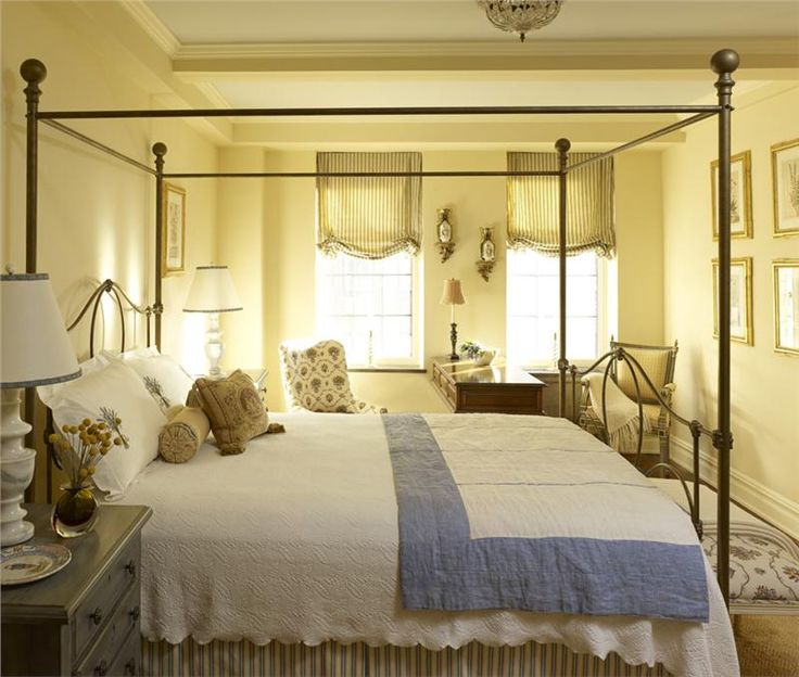 Relaxing Traditional Bedroom by John Douglas Eason on HomePortfolio