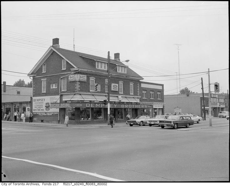 Dempsey's....used to be on the north-west corner of Yonge and Sheppard in Toronto.
