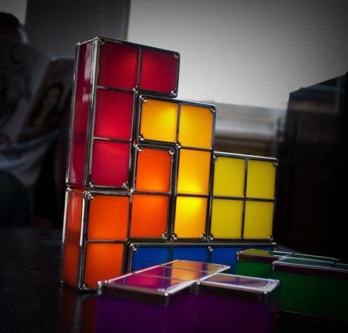 Tetris Desk Light