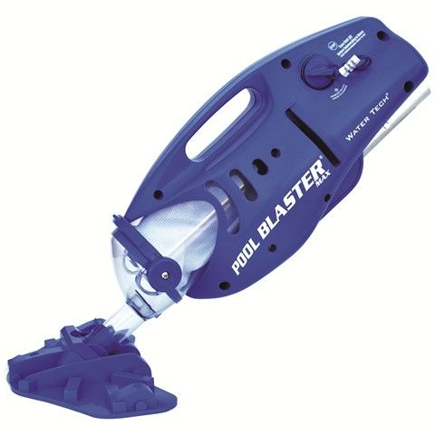 As the flagship product of the Pool Blaster Line, the Pool Blaster Max shattered the mold of traditional pool cleaners. Initially introduced as the Pool Buster Max*, the unit has been redefining the world of pool maintenance since 2001, and has acted as a springboard for the design of the rest of Water Tech's battery powered Pool Blaster Line.