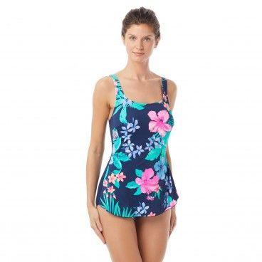 19c602c1b1 Gabar square neck sarong one piece swimsuit native floral gabar jpg 368x368 Gabar  swimsuits swimwear