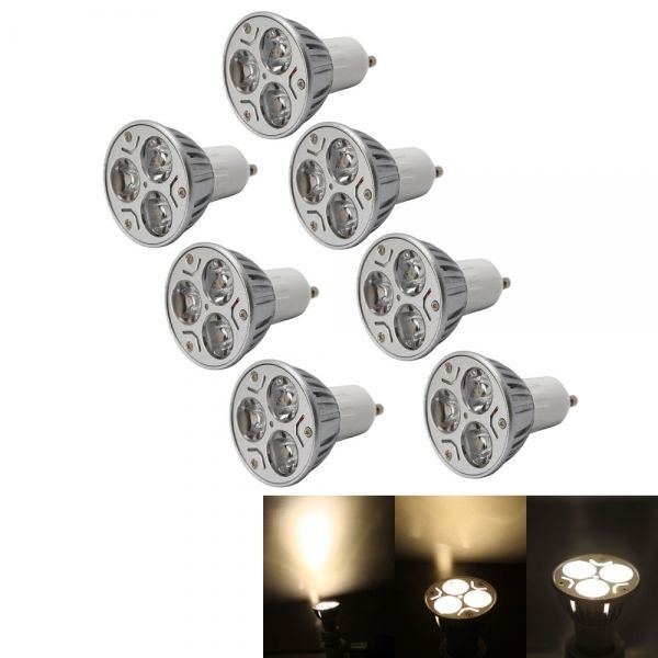 amazones gadgets shopifyl N, 3LEDs 3000-3500K Warm White Light LED Spotlight Bulb 85-265V 7X GU10 3W Spot: Bid: 22,99€ (£20.44)…...:…