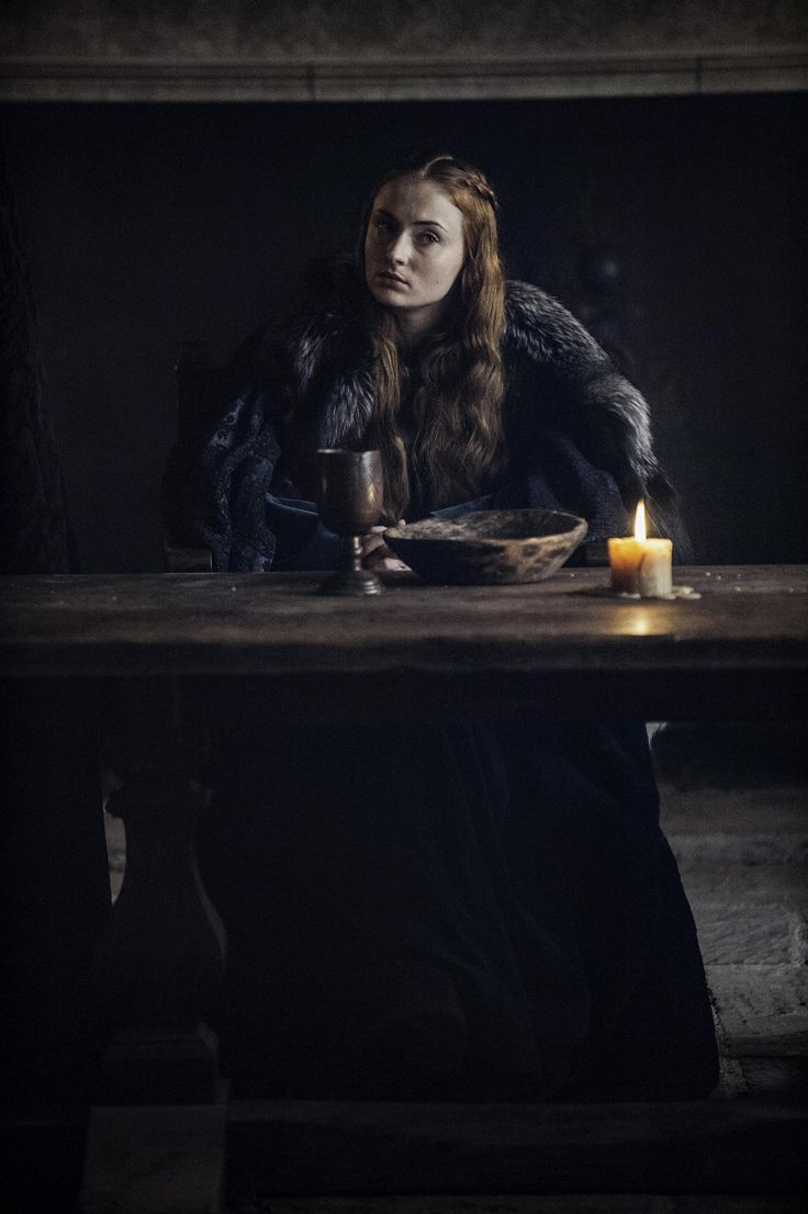 Game of Thrones Season 6 Episode 10. Sansa Stark, Sophie Turner screencaps