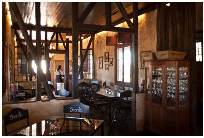 Rayuela Wine & Grill Restaurant at Vina Viu Manent.. dining room. #Colchagua -#colchaguatours   Colchagua Tours