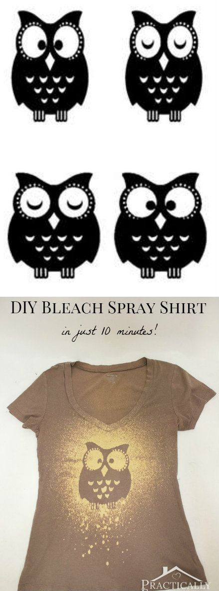 Bleach Spray Shirt Más