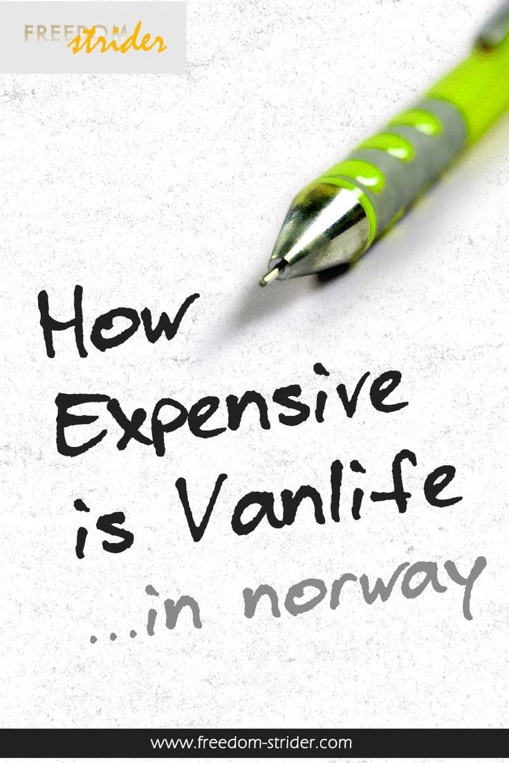 Norway is a budget buster, no matter how much you try. It