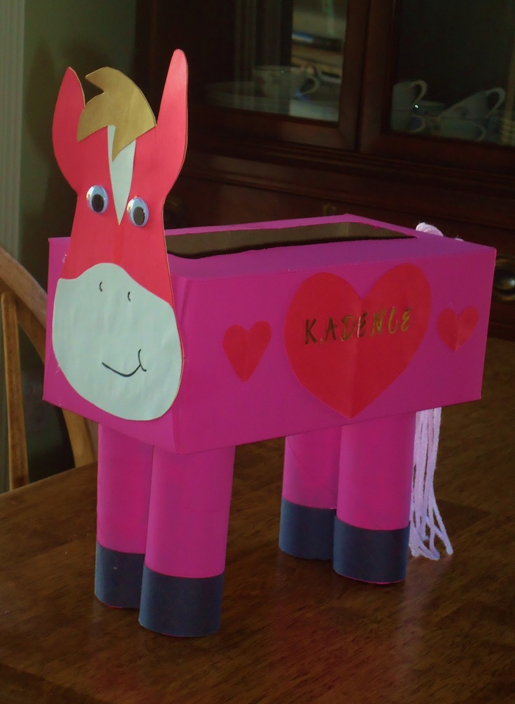 horse valentines boxes - Google Search