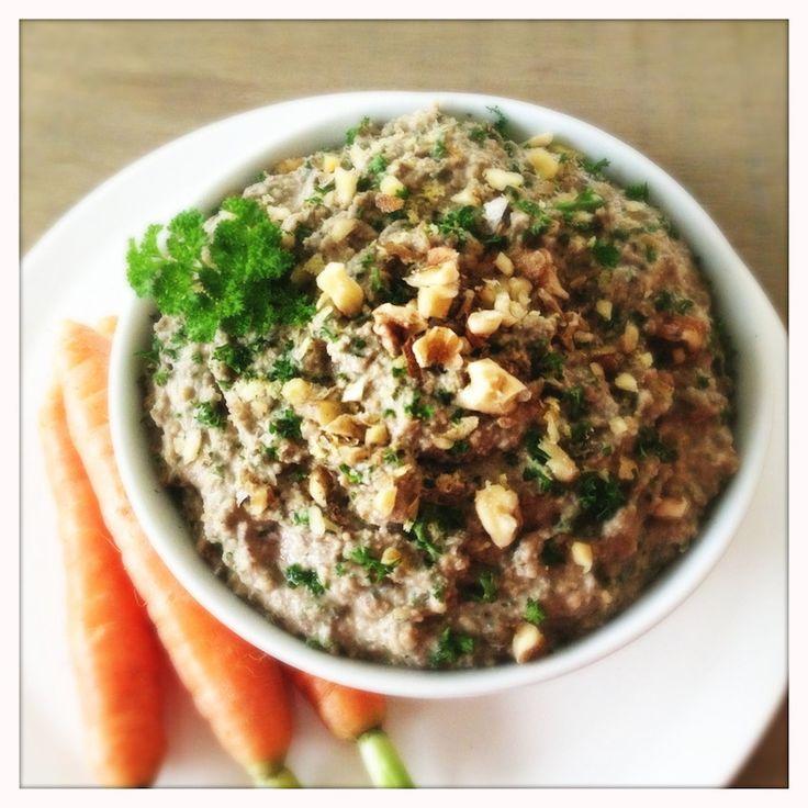 Green Lentil Walnut Pâté (OMG!)   Protein, Looking forward ...