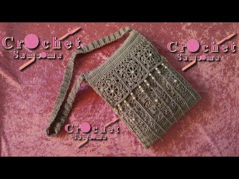 طريقة كروشيه حقيبة بد كروشيه حقيبة يد   شنط كروشيه   كروشيه شتطة  اعمال يدوية    DIY crochet handbag  Crochet Bags   Crochet bag    crochet handbag  DIY Crafts Tutorial    crochet purse